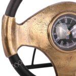Standuhr Macchina 26 cm vintage Bronze