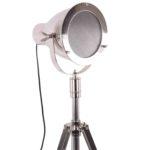 Tischlampe Casoli glänzend Chrom