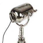 Tischlampe Salvo glänzend Chrom