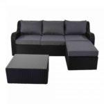 Multi Loungesofa Black