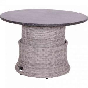 Loungetisch Soho Brick verstellbar rund